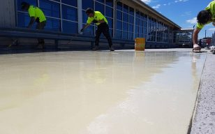 Base coat to 800m2 of car park deck. All in a days work #bravadawaterproofing